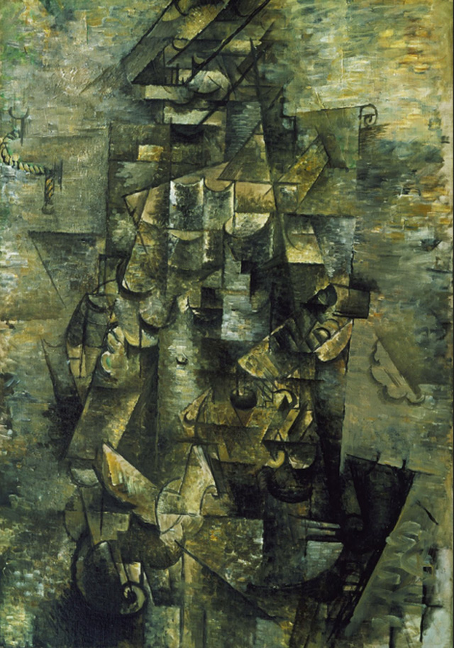 Man with Guitar Braque