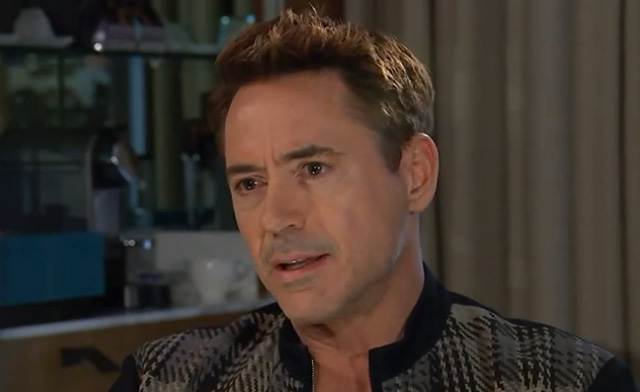 Robert Downey Jr Channel 4 Interview