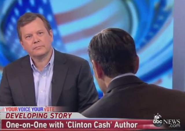 Clinton Cash Stephanopoulous