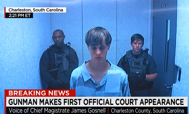 Dylann Roof forgiven
