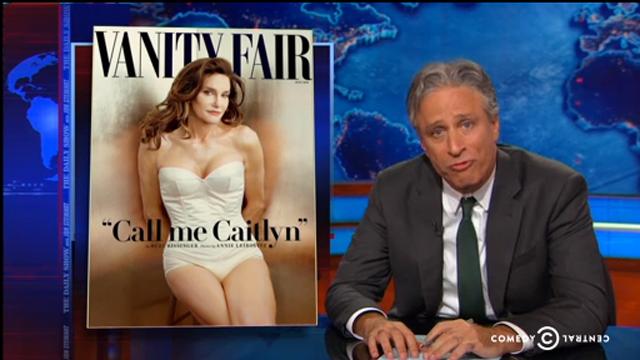 Jon Stewart Caitlyn Jenner Daily Show