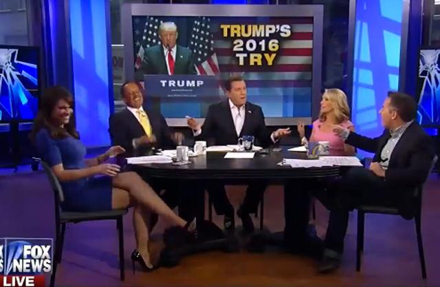 The Five Fox Trump