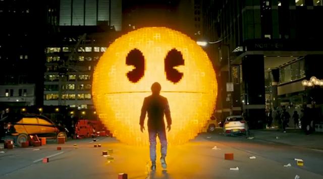 Pixels Pac Man