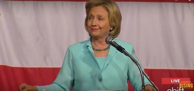 Hillary Clinton Snapchat email joke