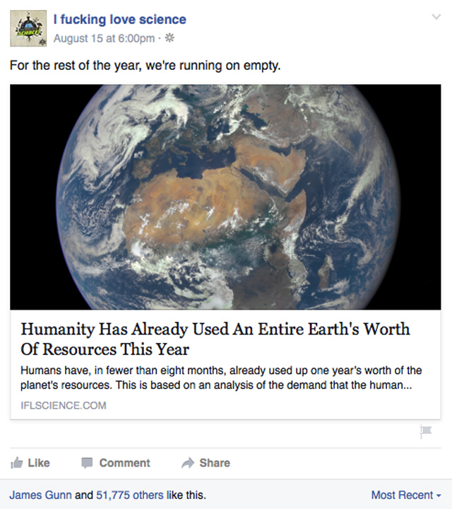 IFLScience earth story