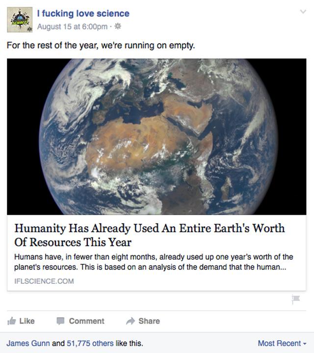 IFLScience earth story