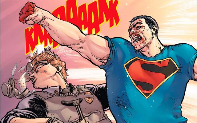 Superman Action Comics 42 Cop