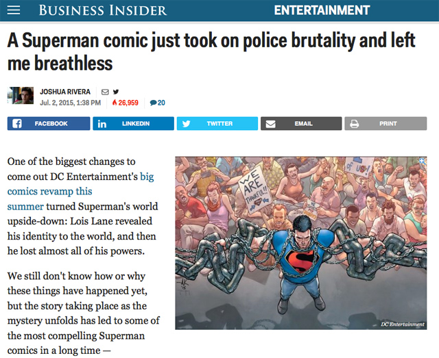 Superman Business Insider