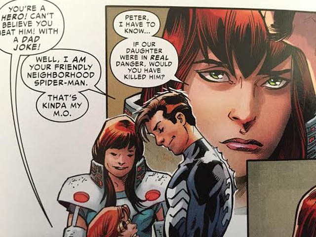 Mary Jane Parker Renew Your Vows