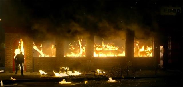 Jessica Jones fire