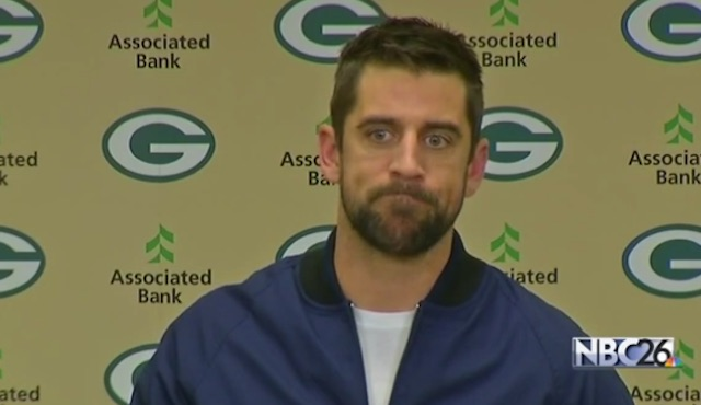 Aaron Rogers press conference