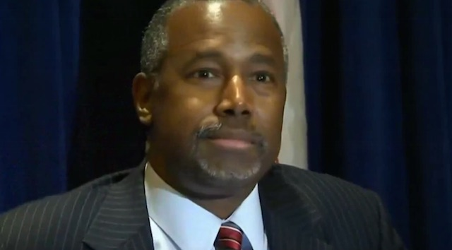 Ben Carson v media West Point