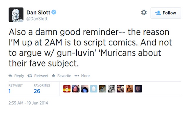 Dan Slott Second Amendment