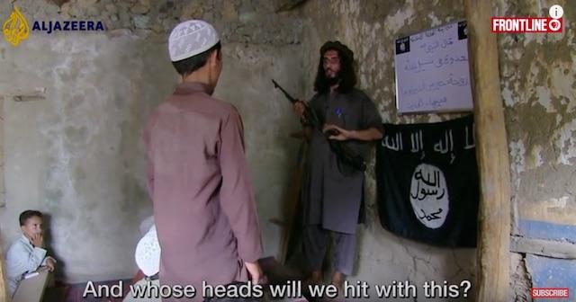 ISIS Afghanistan school