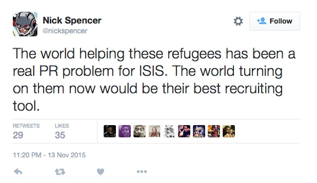 Nick Spencer ISIS