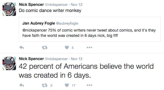 Nick Spencer politics