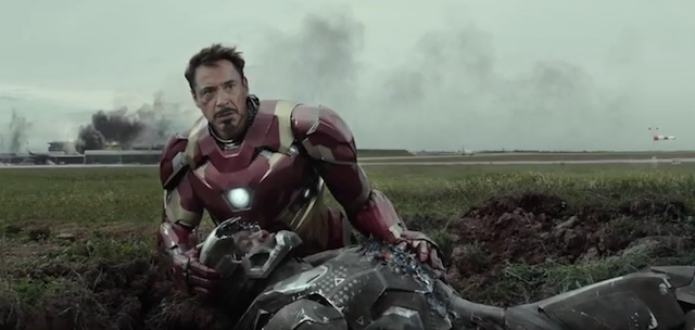 Tony Stark Rhodey Civil War
