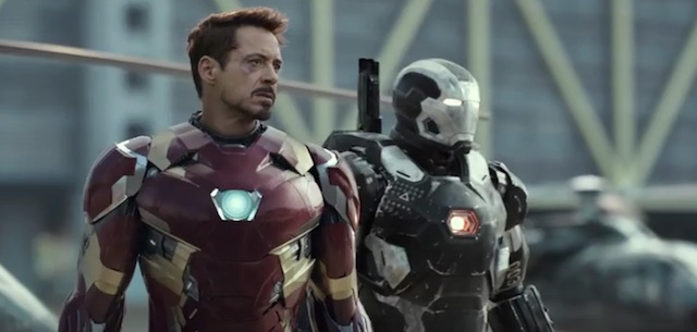 Tony Stark War Machine