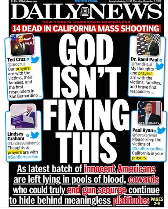 Daily News California shooting