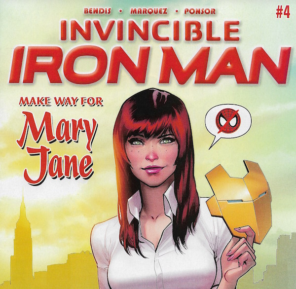 Invincible Iron Man Mary Jane
