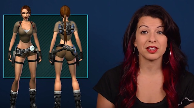 Feminst Frequency Lara Croft