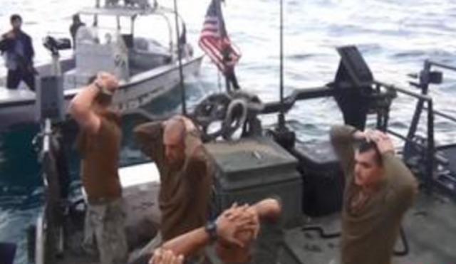 Iran seizes sailors