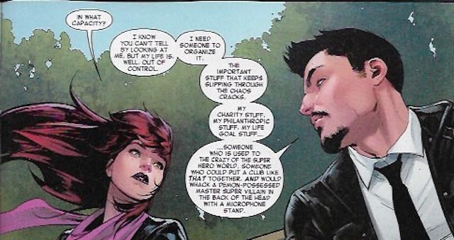 MJ Tony Stark