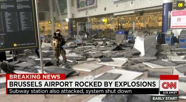 Brussels Belgium terror attack