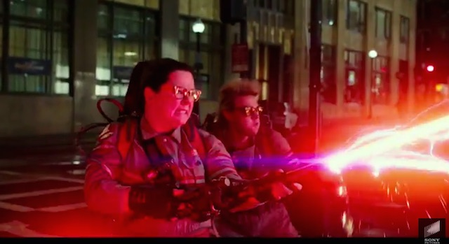 Ghostbusters trailer proton pack