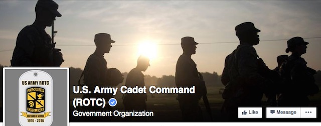 US Army ROTC cadet command