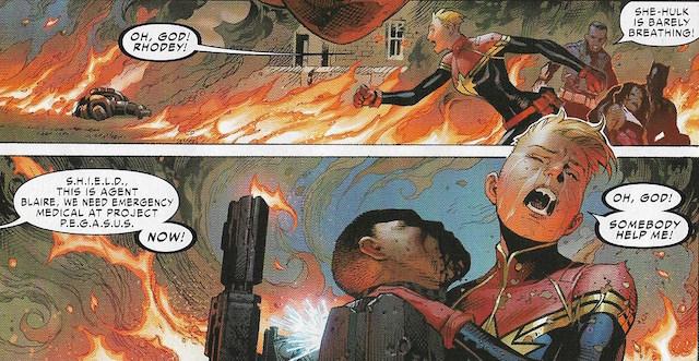Rhodey Captain Marvel