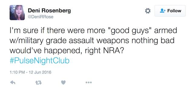 Deni Rosenberg Orlando tweet