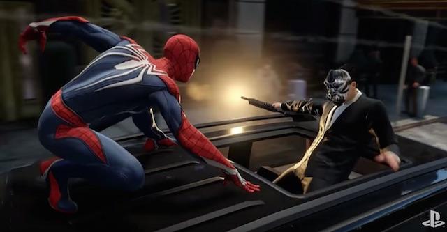 SpiderMan PS4 trailer