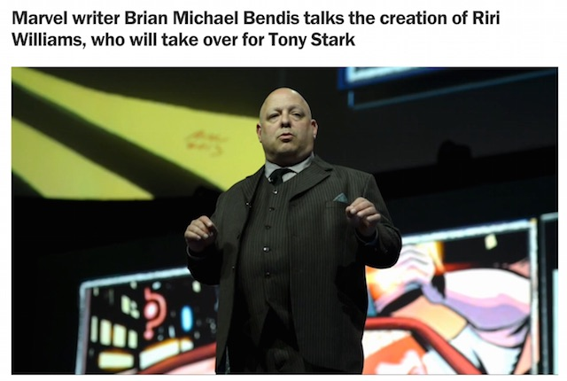 Brian Michael Bendis Time