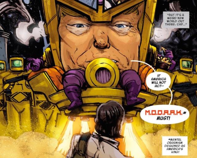 MODAAK Trump Marvel