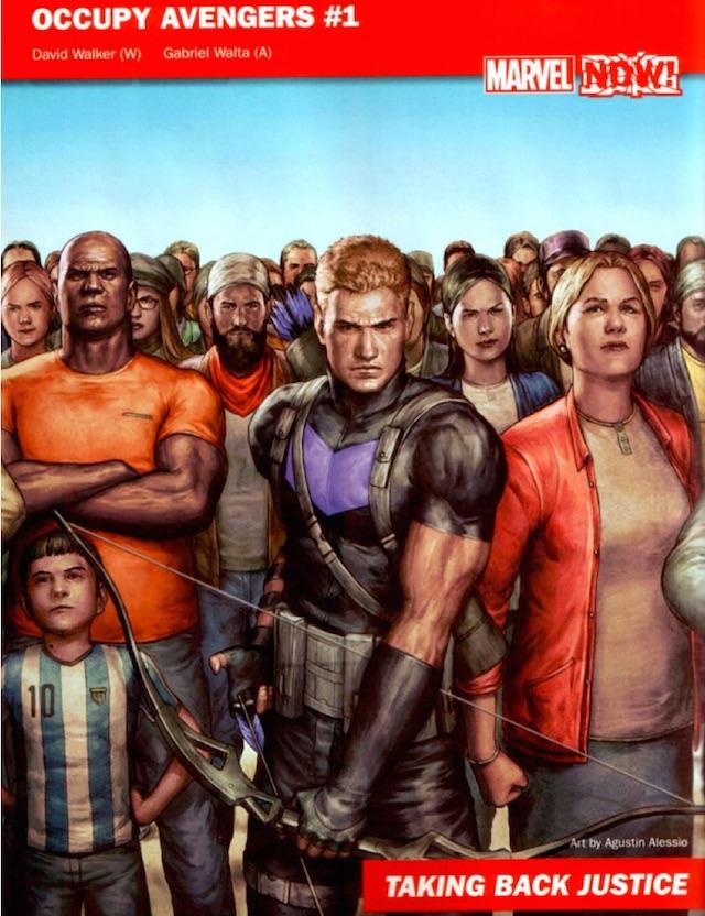 Occupy Avengers promo