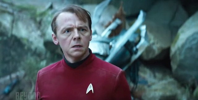 Simon Peg Star Trek Beyond trailer