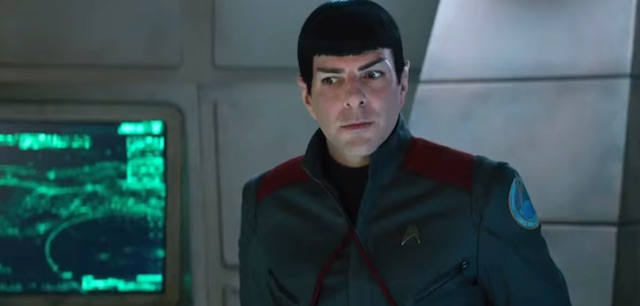 Zachary Quinto Star Trek Beyond trailer