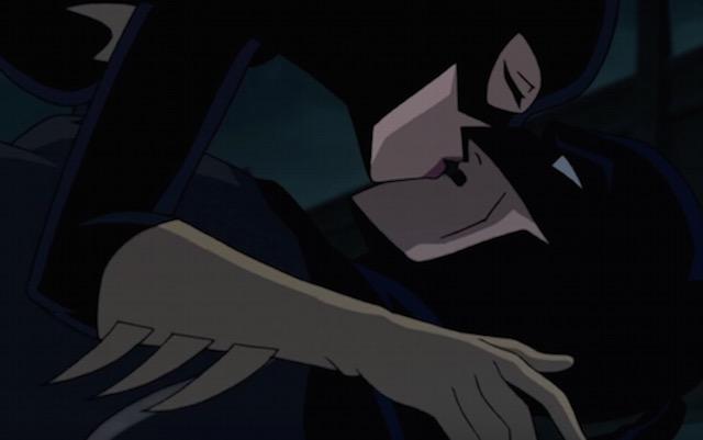 Batgirl kiss