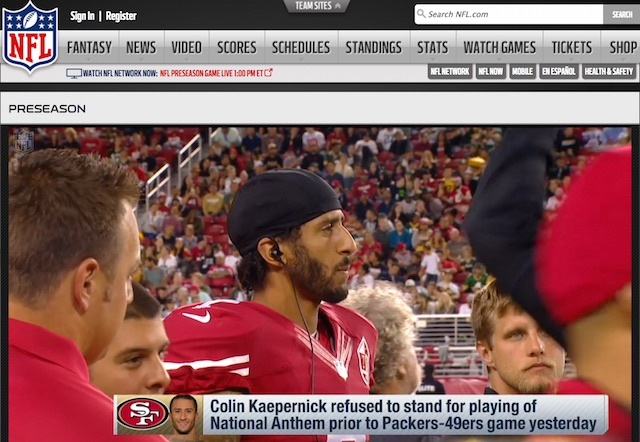 Colin Kaepernick screenshot