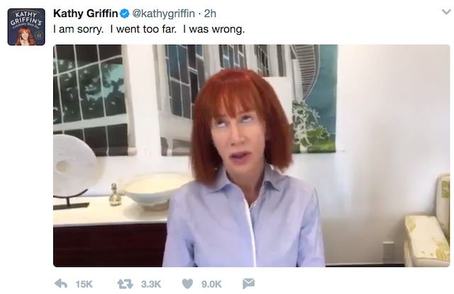 Kathy Griffin Apologize