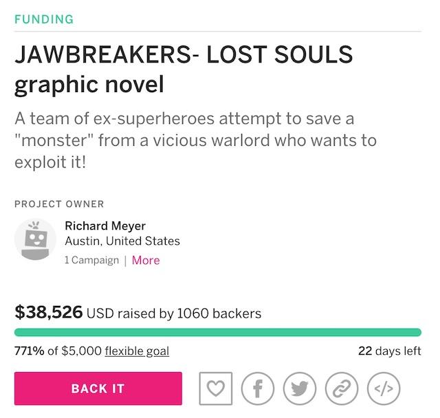 Jawbreakers Indiegogo