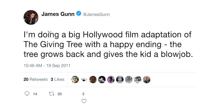 James Gunn tweet 2