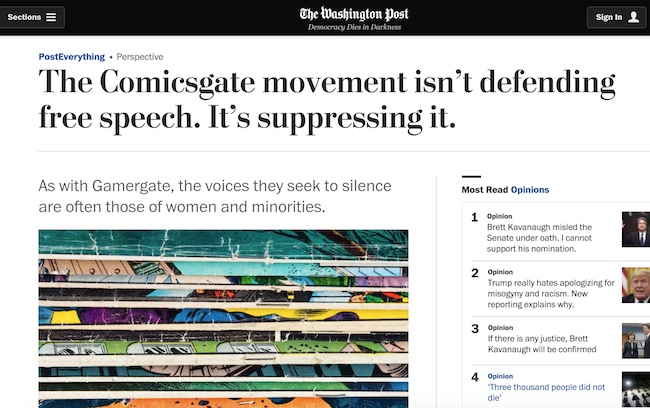 Comicsgate Washington Post
